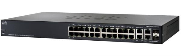 Коммутатор Cisco SB SF300-24PP-K9-EU