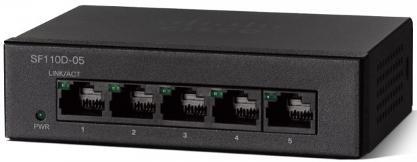 Коммутатор Cisco SB SF110D-05-EU