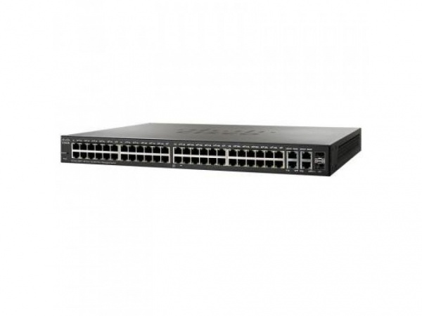 Коммутатор Cisco SB SF300-48PP-K9-EU