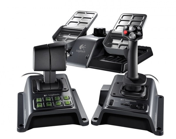 Джойстик Logitech Flight System G940 (942-000016)