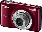 Цифр. фотокамера Nikon COOLPIX L25 Red