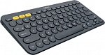 Клавиатура Logitech K380 Multi-Device Bluetooth Keyboard Dark Grey Rus (920-007584)
