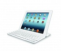 Клавиатура Logitech Ultrathin Keyboard Cover for iPad White Rus (920-004931)