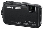 Цифр. фотокамера Nikon COOLPIX AW100 BLACK