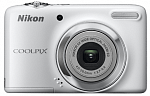 Цифр. фотокамера Nikon COOLPIX L25 White