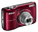 Цифр. фотокамера Nikon COOLPIX L26 Red